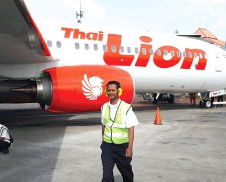 Foto THAI LION AIR