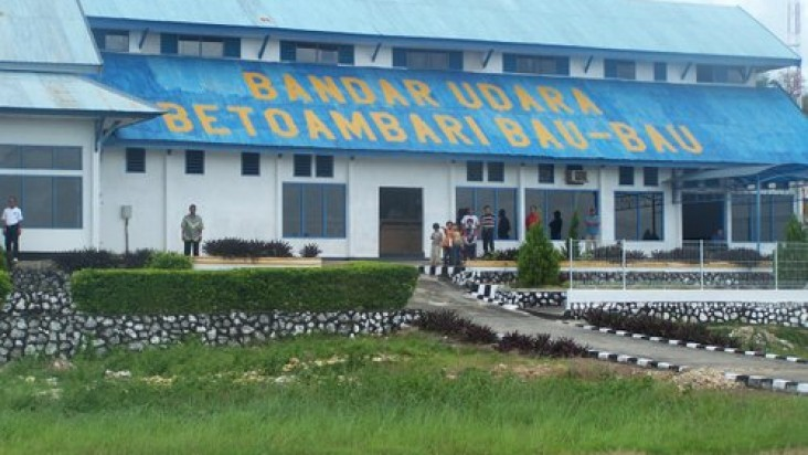 Foto Bandara di Betoambari  Baubau