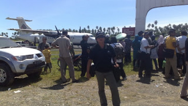 Foto Bandara di Buli Buli
