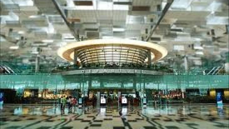 Foto Bandara di Changi Singapore