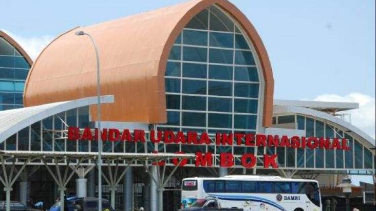 Foto Bandara di Lombok Mataram