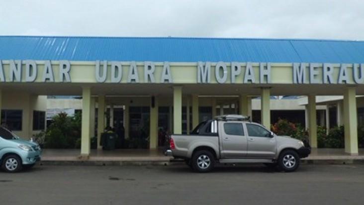 Foto Bandara di Mopah Merauke