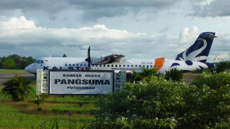 Foto Bandara di Putussibau Kapuas Hulu