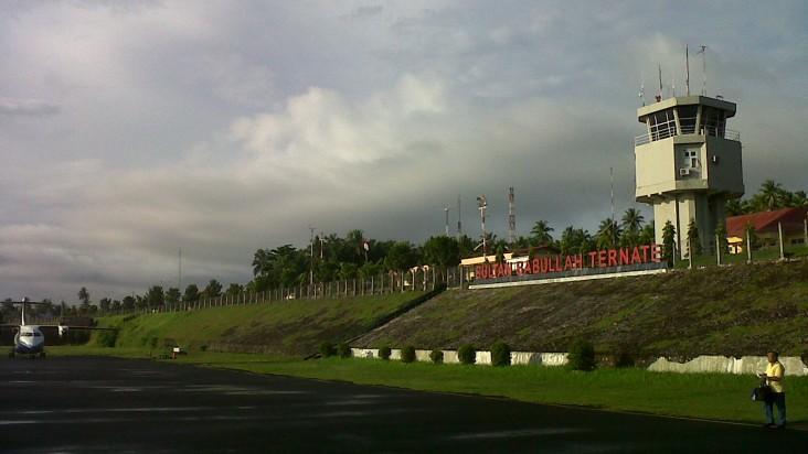 Foto Bandara di Sultan Babullah Ternate