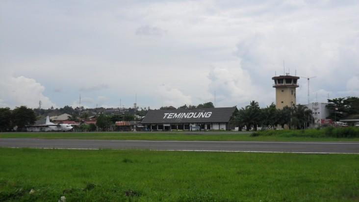 Foto Bandara di Temindung Samarinda