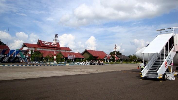 Foto Bandara di Tjilik Riwut Palangka Raya
