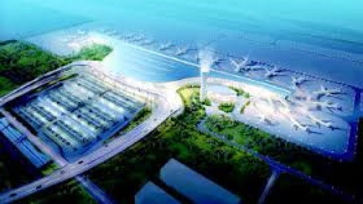 Foto Bandara di Yantai Penglai  Yantai, Shandong