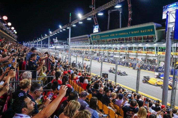 harga tiket 2018 FORMULA ONE SINGAPORE GRAND PRIX - Single-day Grandstand