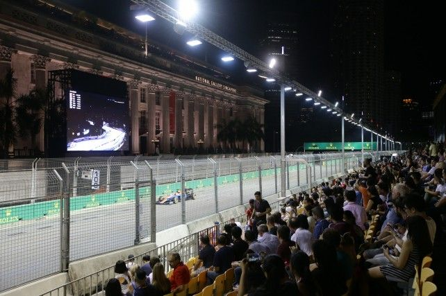 2018 FORMULA ONE SINGAPORE GRAND PRIX - Single-day Grandstand