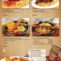 Frankfurter Hotdog & Steak