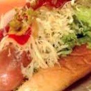 Menu at Frankurter Hotdog