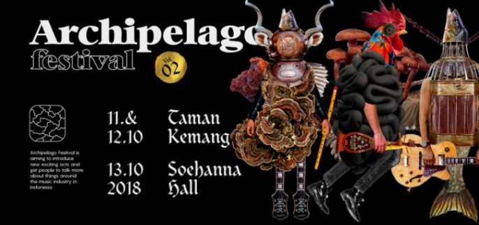 harga tiket Archipelago Festival 2018