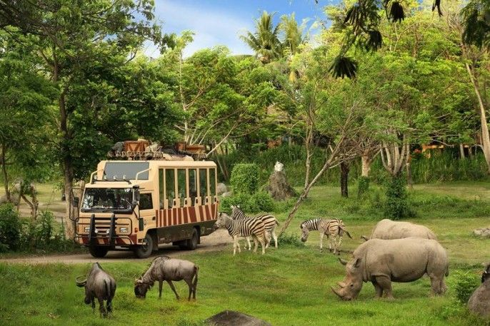harga tiket Bali Safari and Marine Park