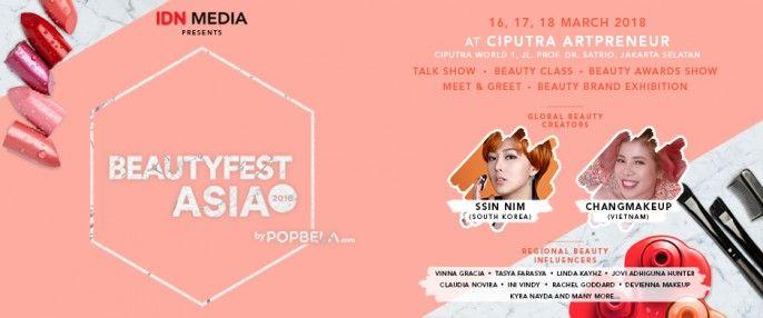 harga tiket BeautyFest Asia 2018