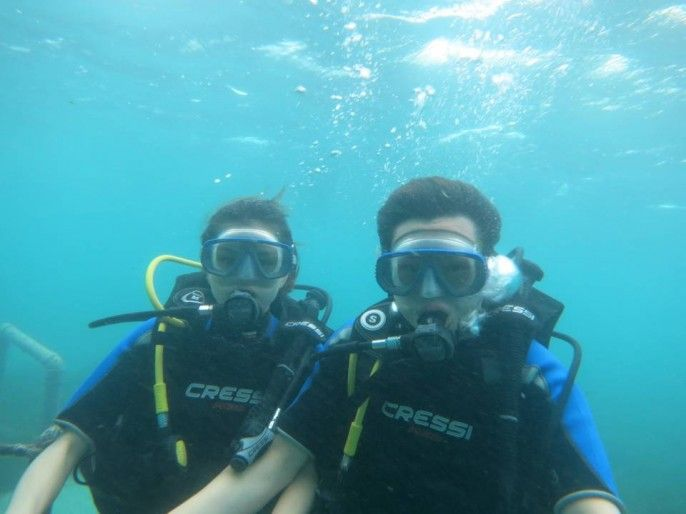 harga tiket Beginner's Diving Activity