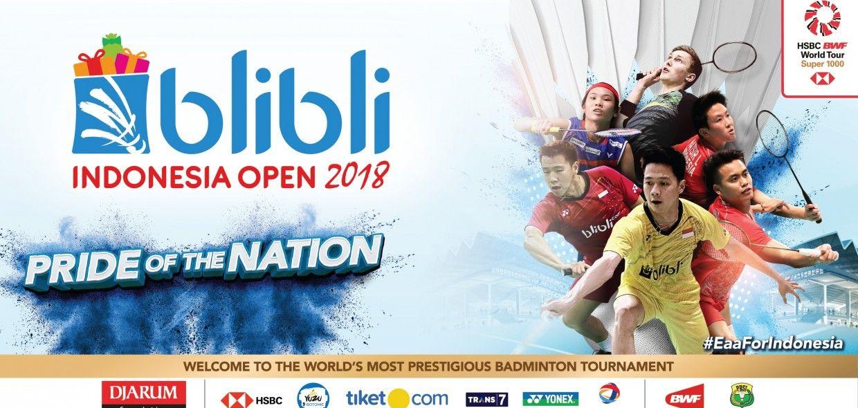 blibli Indonesia Open 2018
