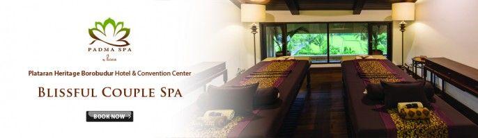 harga tiket Blissful Couple Spa at Padma Spa Plataran Heritage Borobudur