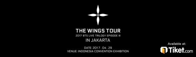 harga tiket THE WINGS TOUR 2017 BTS LIVE TRILOGY EPISODE lll IN JAKARTA