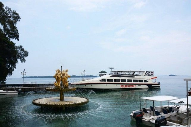 Day Tour to Pulau Putri Island
