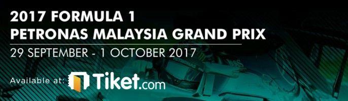 harga tiket Formula 1 Sepang Malaysia Grand Prix 2017