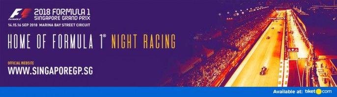 harga tiket Formula 1 Singapore Grand Prix 2018