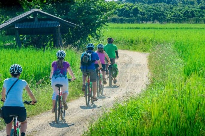 harga tiket Full-day Cycling Tour of Chiang Mai Countryside