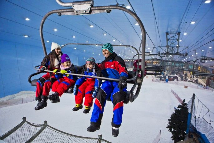harga tiket Full-day Ski Dubai Polar Express Pass