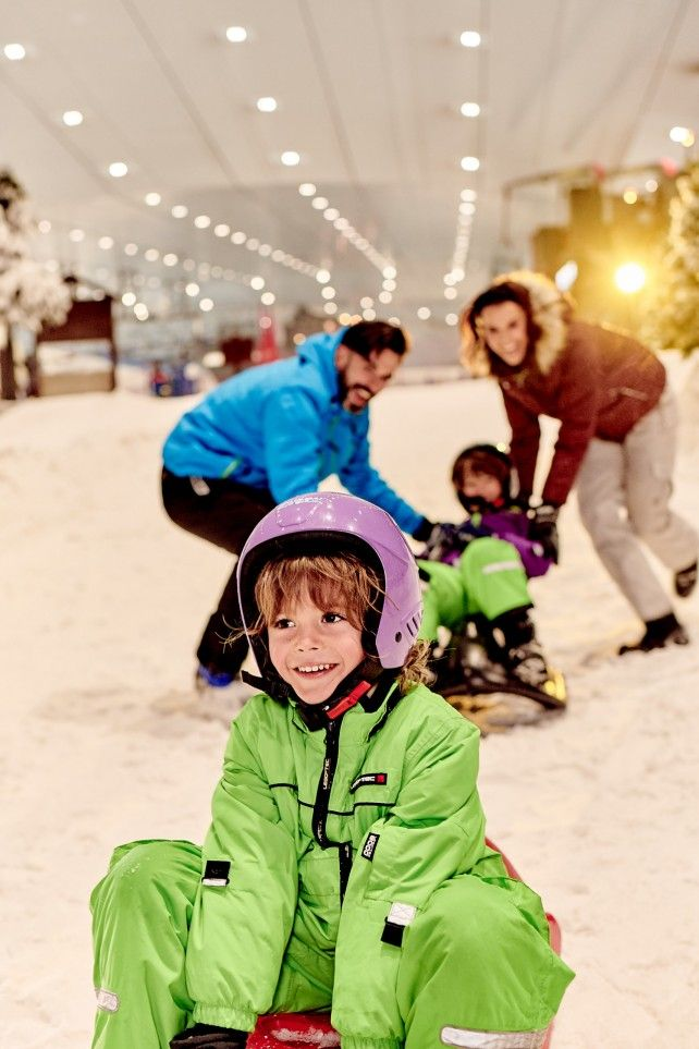 Full-day Ski Dubai Polar Express Pass