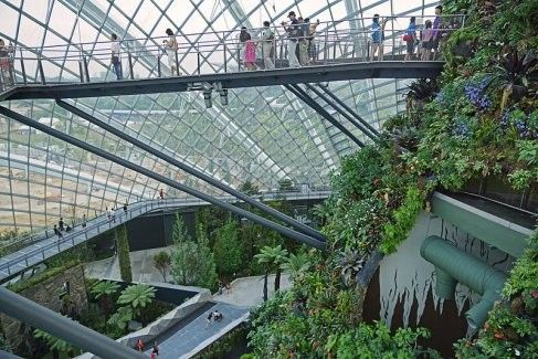 Gardens by the Bay E-Ticket for Flower Dome and Cloud Forest