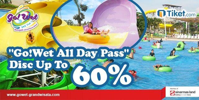 harga tiket Go! Wet Waterpark Bekasi