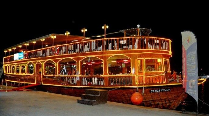 harga tiket Half-day Dhow Cruise in Abu Dhabi with Transfer and Dinner