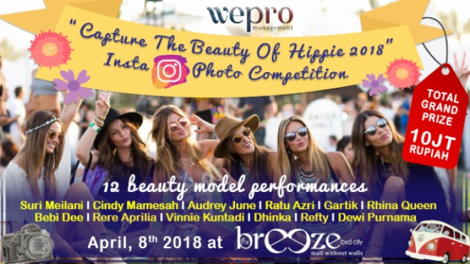 harga tiket Hippie's Photo Competition 2018
