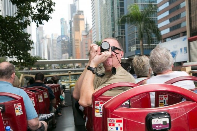 harga tiket Hong Kong Hop-on Hop-off Bus Tours