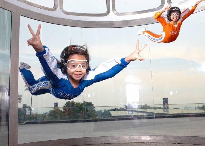harga tiket iFly Singapore Indoor Skydiving Activity Pass