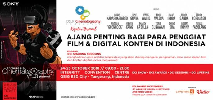 harga tiket INDONESIA CINEMATOGRAPHY FESTIVAL 2018