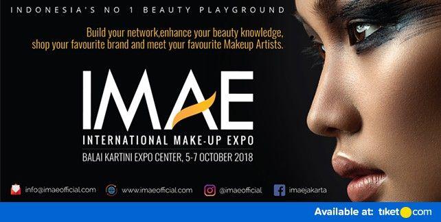 harga tiket International Makeup Expo (IMAE 2018)