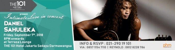 harga tiket Intimate Live In Concert Daniel Sahuleka