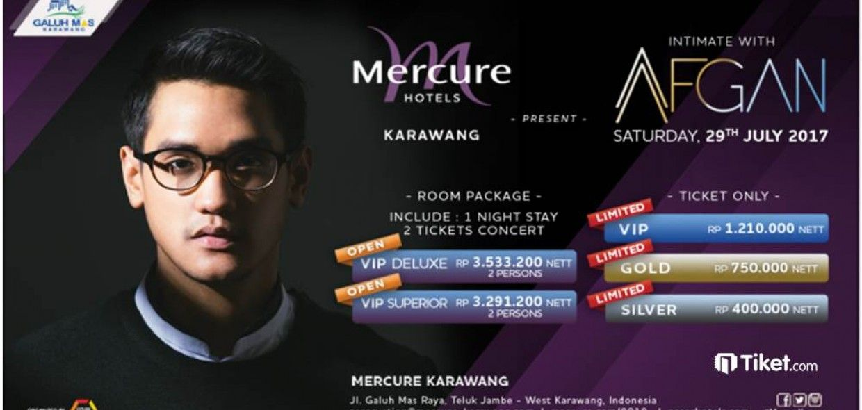 Intimate with Afgan