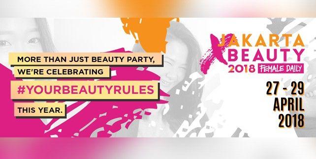 harga tiket Jakarta X Beauty 2018