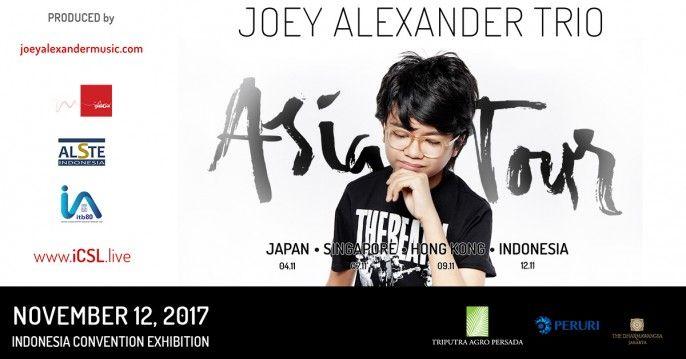 harga tiket Joey Alexander Trio Wonderful Indonesia