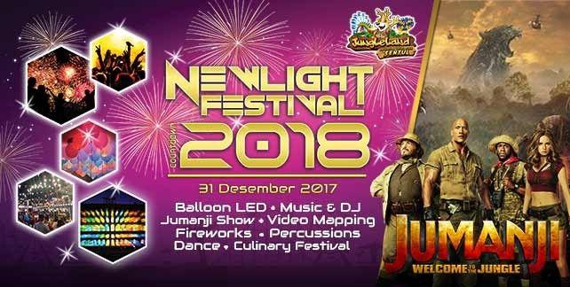 harga tiket JungleLand Adventure Bogor New Year Special