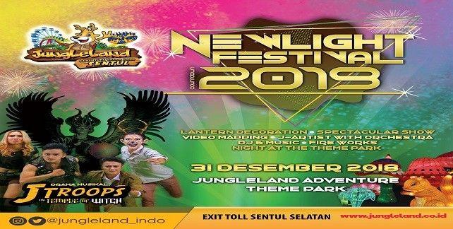 harga tiket Jungleland New Light Festival 2019