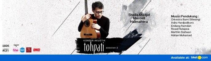 harga tiket Konser Akustik Tohpati Session 2