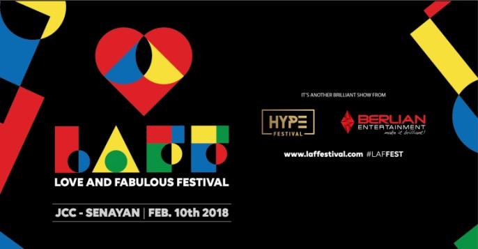 harga tiket LAFF FESTIVAL – LOVE AND FABULOUS FESTIVAL 2018