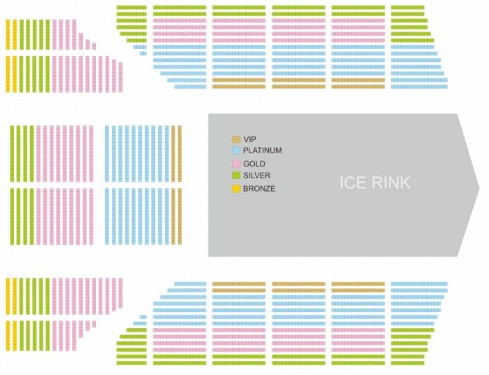 Lokasi Layout Masha & The Bear on Ice - Show 1 (Friday, 29 Juni 2018)