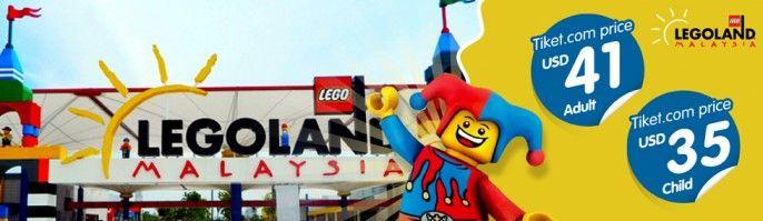 harga tiket Legoland Theme Park Malaysia