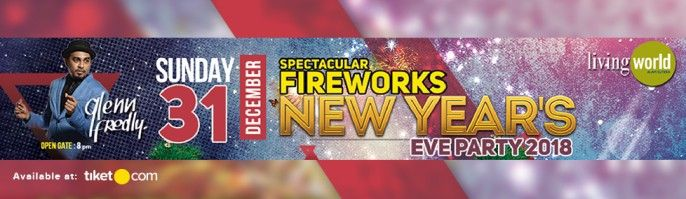 harga tiket Living World Tangerang - New Years Eve Party