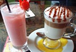 Drinks at Loca! Coffee Plus
