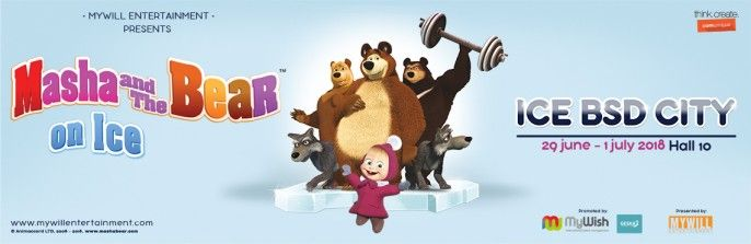 harga tiket Masha & The Bear on Ice - Show 1 (Friday, 29 Juni 2018)