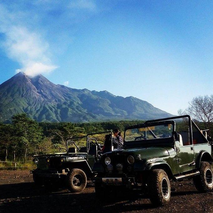 harga tiket Mount Merapi Jeep Tour